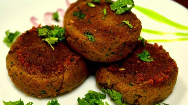 Chicken Shami Kebab چکن شامی کباب
